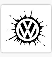 VW splat Sticker