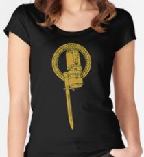 The Hand Of Big Brother Women's Fitted Scoop T-Shirt