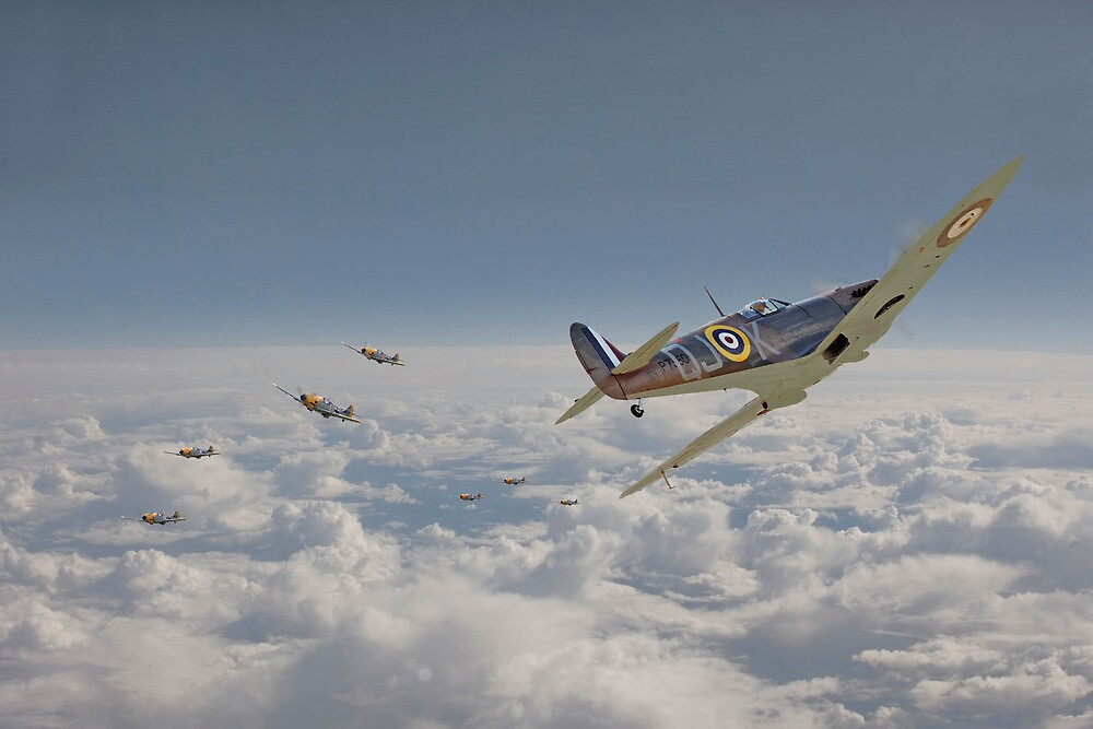 Spitfire - Battle of Britain by Pat Speirs