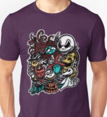 Nightmarish Characters Unisex T-Shirt