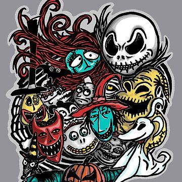 Nightmarish Characters by fatherkojak