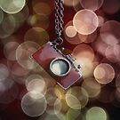 Red Camera Brokeh by Heather  Waller-Rivet  IPA