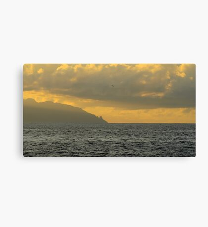 La Gomera from Tenerife Canvas Print