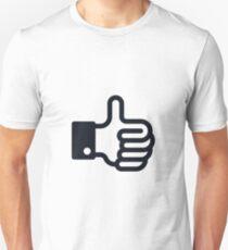 Thumb Up / Pulgar Para Arriba / Daumen Hoch Unisex T-Shirt
