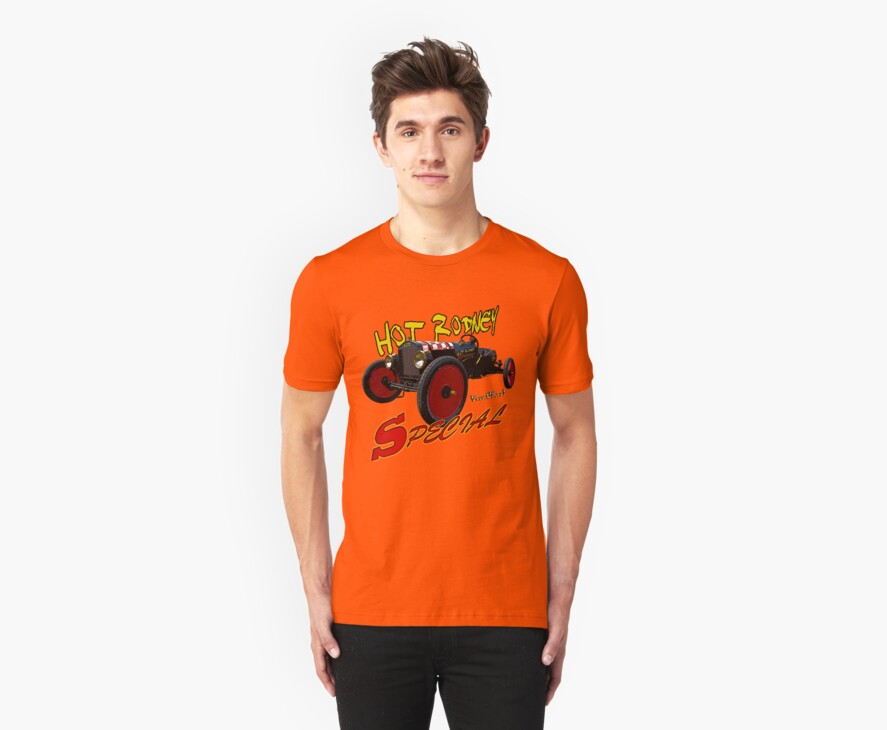 Hot Rodney Special Graphical T-Shirt by ChasSinklier