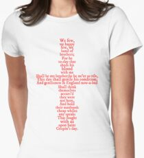 Henry V Speech Shirt T-Shirt