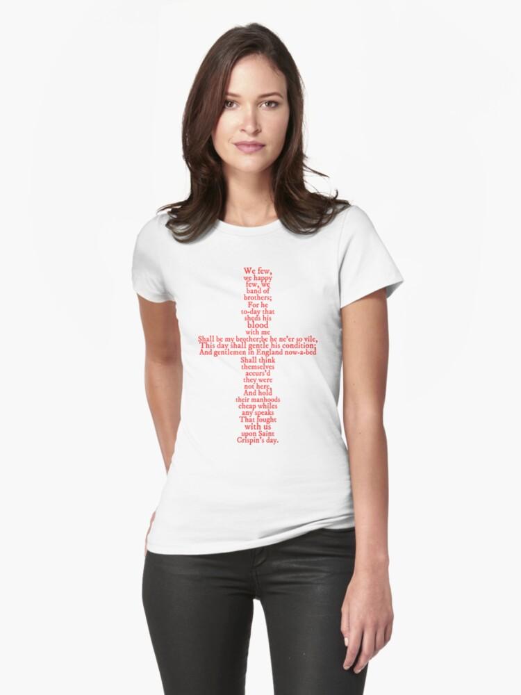 Henry V Speech Shirt by syrensymphony