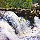 Falls of Dochart Scotland by mlphoto