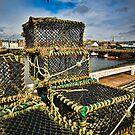 Arbroath Harbor Scotland by mlphoto