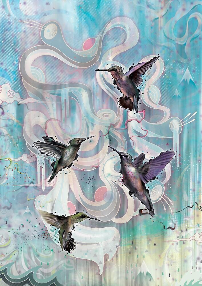 Hummingbirds by MatMiller