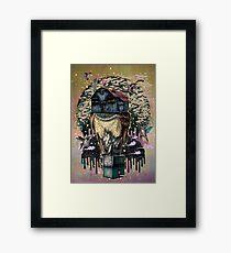 The Barn Owl Fortune Teller Framed Print