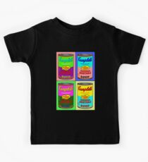 Vegetarian Campbell's Warhol Tribute Kids Tee