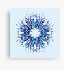 Vector Snowflake Canvas Print