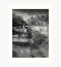 Back Road, Roxburgh Art Print