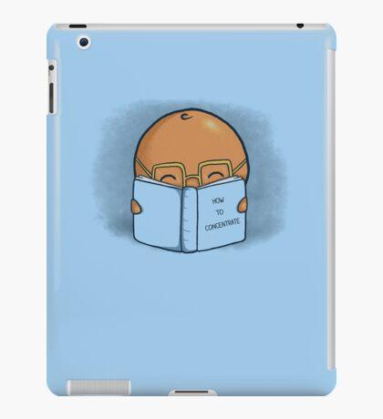 Orange Concentrate iPad Case/Skin