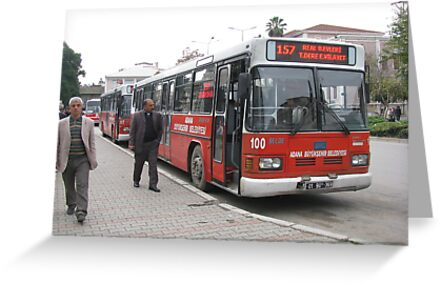 The bus in Adana by rasim1