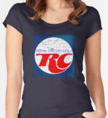 cee6cf015593bd Vintage RC Cola design Women s Fitted Scoop T-Shirt