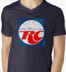 Vintage RC Cola design Men's V-Neck T-Shirt