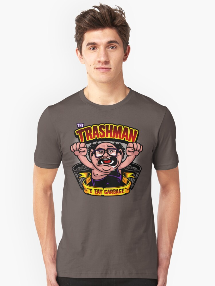 The Trashman Unisex T-Shirt Front