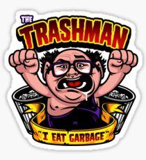 The Trashman Sticker