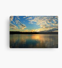 Chinderah Sunset Metal Print