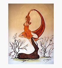 Art Nouveau -  'Mother Nature' Photographic Print