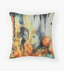 Ivresse, featured in Solo Exhibition Throw Pillow