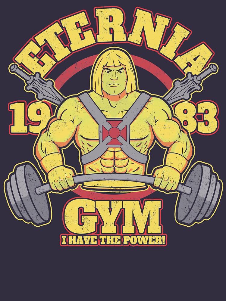 Eternia Gym by jozvozdesign