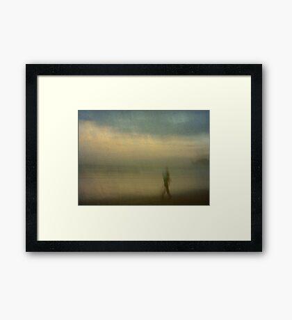 Walk it Down Framed Print