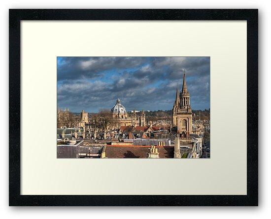 Oxford Skyline by mlphoto