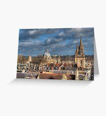 Oxford Skyline Greeting Card