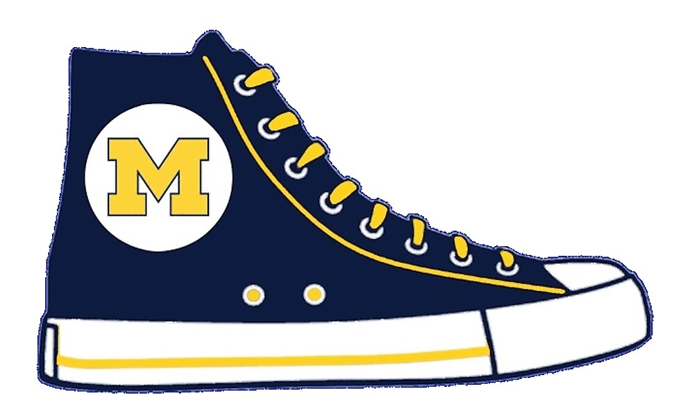 950d411859b7 University of Michigan Converse Sneaker