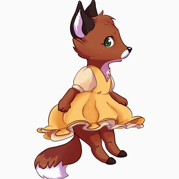 Cute fox girl by Tunnelfrog