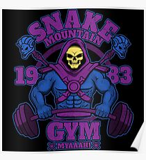 Snake Mountain Gym Poster