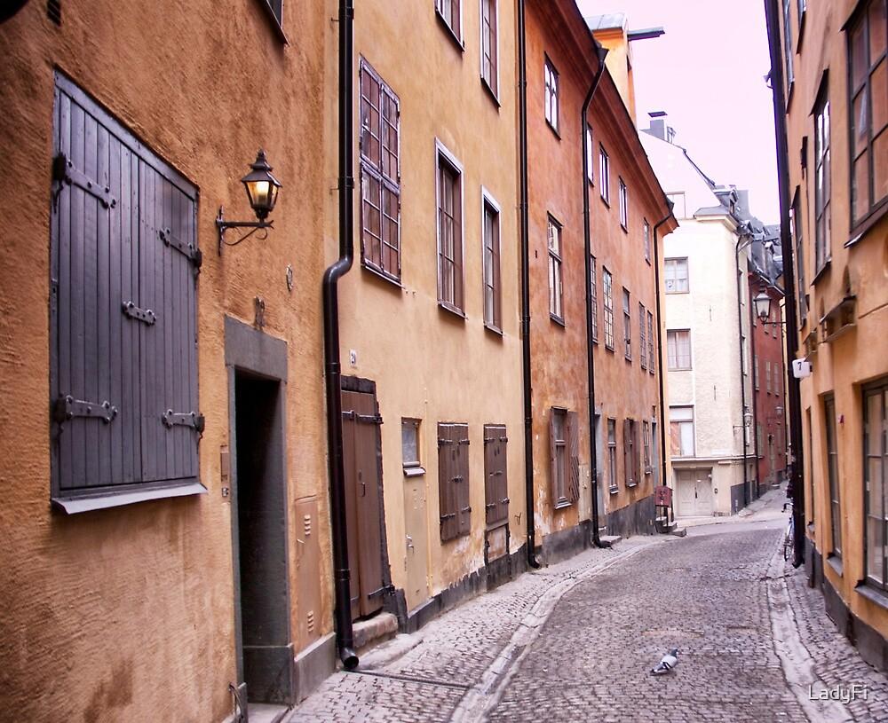 Lonely street by LadyFi
