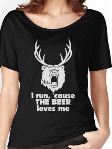 The Beer loves me VRS2 Women's Relaxed Fit T-Shirt