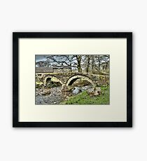 Wycoller Village (HDR) Framed Print