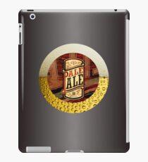 VINTAGE BEER LABEL iPad Case/Skin