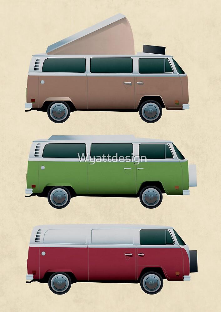 VW Camper by Wyattdesign