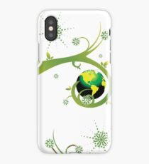 Earth Eco Friendly Design iPhone Case/Skin