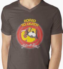 Bored to Death Mens V-Neck T-Shirt
