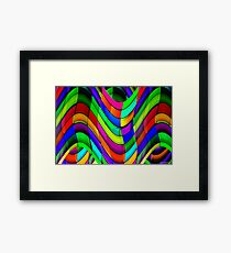 Projecting Colors No.4  Framed Print