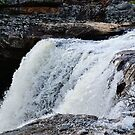 Top of Noccalula Falls by Eileen Brymer
