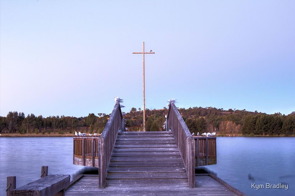 Looking Ahead  Lake Tuggeranong   Canberra Australia  by Kym Bradley