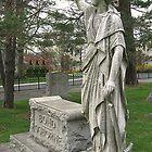 Bond-Osborne Statue, full side view by Jane Neill-Hancock