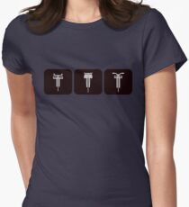 Velodrome City Icon Series V2 no.3a Womens Fitted T-Shirt