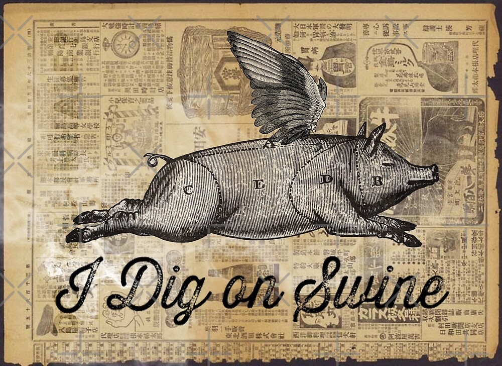 i dig on swine by Vin  Zzep