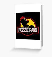 Fozzie Park Greeting Card