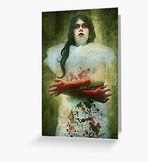 Lady Macbeth's Insanity Greeting Card