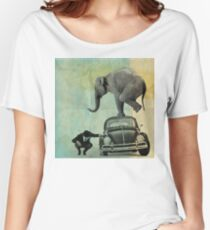 Looking for tiny, elephant on a vw Women's Relaxed Fit T-Shirt